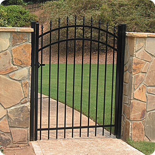 Eagleville Pa Fence Company Delgard Aluminum Residential